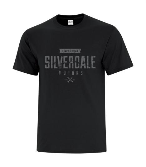 Silverdale Motors Distressed T Shirt thumbnail